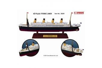 4D Model 26361 RMS Titanic Ocean Liner 1:1200 Scale Display Model