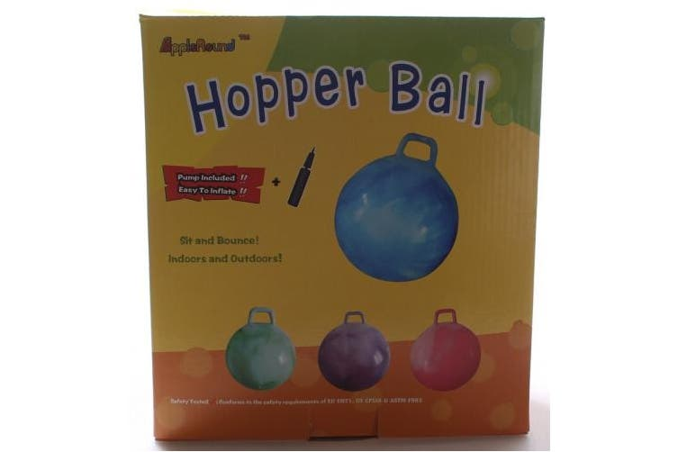 Space Hopper Ball: 28-inch Diameter for age 13+, Pump Included (Hop Ball, Kangaroo Bouncer, Hoppity Hop, Sit and Bounce, Jumping Ball)
