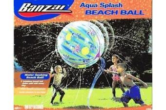 AQUA SPLASH WATER SOAKING BEACH BALL