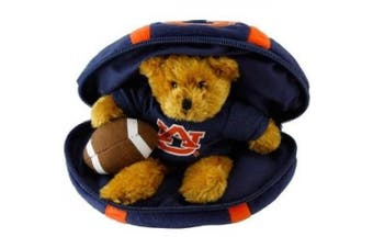 Auburn Tigers Hidden Plush Bear Football Toy