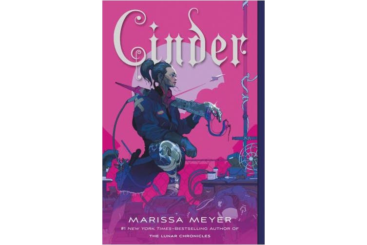 Cinder: Book One of the Lunar Chronicles (Lunar Chronicles, 1)