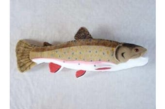 Brook Trout 43cm Stuffed Plush Animal - Cabin Critters Freshwater Fish Collection