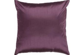 (18 x 18 Polyester Filler, 18 x 18 Polyester Filler) - Surya HH-039 Square Indoor Decorative Pillow with Down or Polyester Filling from