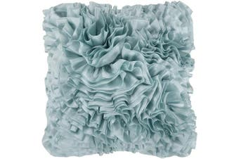 (Down Fill, 60cm  60cm , Light Blue) - Petal Pillow - Aqua | 55.9cm