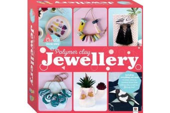 Create Your Own Polymer Clay Jewellery Craft Kit