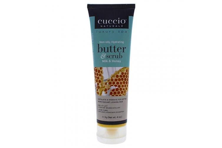 (Milk & Honey) - Cuccio Butter Scrub, Milk & Honey, 120ml