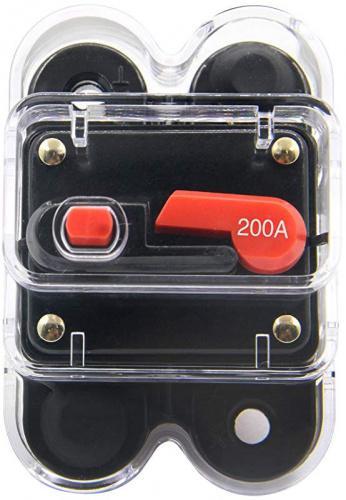 80Amp ZOOKOTO Fuse holder 80A,12V-24V DC Circuit Breaker For ...