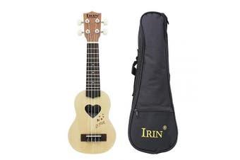 (17 inch-#1) - Andoer 43cm Mini Ukelele Ukulele Spruce/Sapele Top Rosewood Fretboard Stringed Instrument 4 Strings with Gig Bag (1)