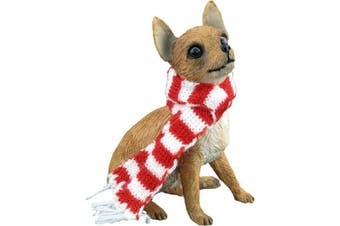 Sandicast Breed Sculpture Holiday Ornament Chihuahua