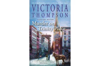 Murder On Trinity Place: A Gaslight Mystery