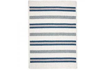 (0.6m by 1.8m) - Colonial Mills Allure Polo Blue Rug Rug Size: Runner 2' x 6'