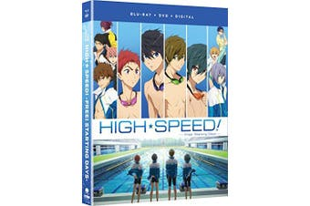 Free! High Speed!: Free! Starting Days - The Movie [Blu-ray] [Blu-ray]