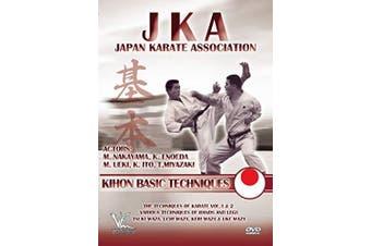 JKA - Japan Karate Association: Kihon Basic Techniques