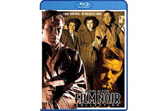 John Alton Film Noir Collection (T-Men / Raw Deal / He Walked by Night) - The ClassicFlix Restorations on Blu-ray [Blu-ray]
