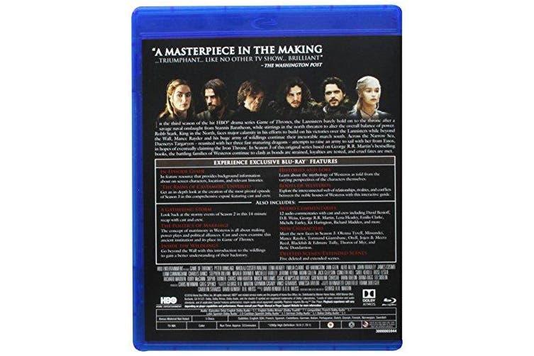 Game Of Thrones S3 Elitesc Dcexp2 19 Bd Blu Ray Blu Ray Kogan Com