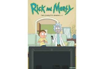 Rick and Morty: Seasons 1-3 (DVD)