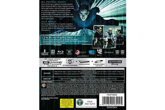 matrix reloaded (blu-ray 4k ultra hd+blu-ray) BluRay Italian Import [Blu-ray]