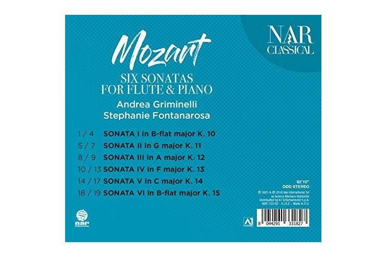 Mozart: Six Sonatas