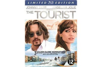 The Tourist [ 2010 ] Limited Edition Steelbook [ Blu-Ray ] [Blu-ray]