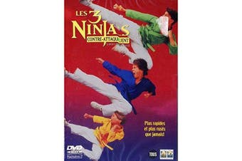 3 Ninja's Kick Back [1994] [DVD]