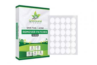 Skin Tag and Acne Remover Patches (72 Pcs) Natrual Ingredients Medicated Patches,Pimple Dries and Falls away, Covers and Conceals Skin Tags, New and Improved Formulation Acne Remover