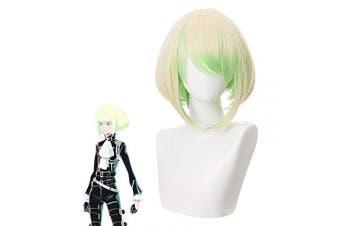 Cfalaicos Beige Green Mixed PROMARE Lio Fotia Cosplay Wig