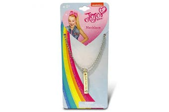 JoJo Siwa Embossed Vertical Gold bar Necklace - Just Have Fun
