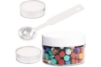 Octagon Wax Sealing Bead Kit (10 Colours, 203 Pieces)