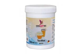 Creartec TexWax Waterproofing Fluid for a Food-Safe Coating of Textiles of All Types 250 ml Made in Germany