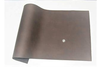 (12 x 24, brown) - ABE Leather HIDES Cow Skins Various Colours & Sizes (Brown, 12 x 24)