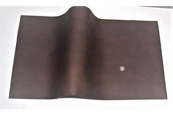 (18 x 24, brown) - ABE Leather HIDES Cow Skins Various Colours & Sizes (Brown, 18 x 24)