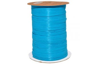 (100 yards, Aqua) - Morex Ribbon 100% Rayon Matte Raffia Biodegradable Ribbon, Aqua, 0.6cm x 100 Yd