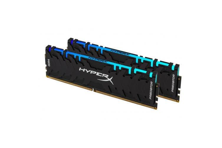 HyperX 32GB 3000MHz DDR4 CL15 DIMM (Kit of 2) XMP RGB HX430C15PB3AK2/32 - Memory Upgrade