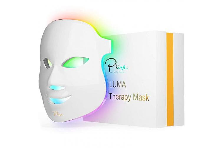Luma Skin Therapy Mask - Home Skin Rejuvenation & Anti-Ageing Light Therapy - 7 Colour LED - Facial Skin Care - Skin Tightening - Wrinkles and Fine Lines - Boost Collagen - Inflammation Fighter