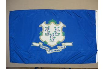 (1.2m by 1.8m) - Connecticut State Flag 4'x6' Nylon