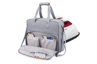 (For 30cm  x 25cm Cricut Easy Press 2) - BUBM Carrying Case for Cricut Easy Press - Carrying Bag Compatible with Cricut Easy Press(30cm x 25cm ), Tote Bag Cricut Accessories(Grey)