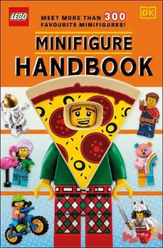 LEGO Minifigure Handbook Meet the coolest LEGO  Minifigures ever!The strange, the spooky, and the silly – all of your favourite LEGO  minifigures are here.Go back in time with retro minifigures from the LEGO archives.Meet new characters from fun LEGO themes, including LEGO  NINJAGO , LEGO  City, and LEGO  Collectible Minifigures.Your guide to more than 300 awesome minifigures! 2020 The LEGO Group.