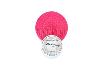 (Cleaner+Pad) - Anne's Giverny Makeup Brush Solid Cleaner Sponge Blender Cleanser (Cleaner+Pad)