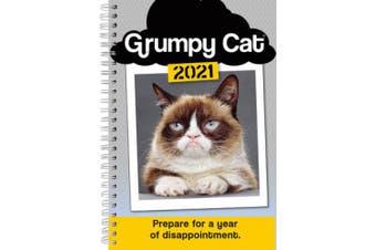 2021 Grumpy Cat(r) 17-Month Weekly Planner