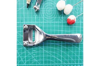 (Silver) - BUTUZE Metal Leather Skiver,Sharp Skiver with Comfortable Grip,Convenient Leather Working Tool with Three Skiver Blades for Leather Craft DIY,Leather Making,Leather Thinning