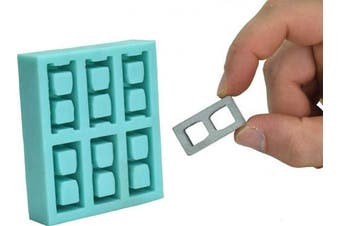 (1:12 Scale) - Acacia Grove Miniature Cinder Block Mould (1:12 Scale), Silicone Rubber