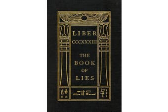 The Book of Lies: Oversized Keep Silence Edition