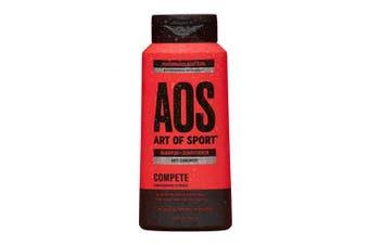 Art of Sport Anti Dandruff Shampoo and Conditioner for Men, Compete Scent, Dry Scalp Shampoo and Dandruff Treatment with Zinc Pyrithione, Coconut Oil and Aloe Vera, Sulphate Free, 400ml