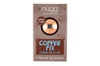 Nugg Beauty Coffee Fix Coffee Flavoured Sugar Lip Scrub, 5ml