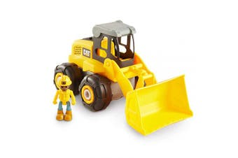 (CAT Build Your Own Junior Crew Wheel Loader) - Caterpillar CAT Construction Build Your Own Junior Crew Wheel Loader Building Toy