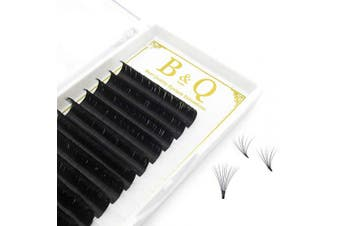 (D-0.03, 1 Tray 9-16 MIX) - 4 Tray Volume Lash Extensions .03 .05 .07 .10 Easy Fan Volume Lashes C D curl Flowering Lash Extensions Mega Volume Lash Extensions 9-16mm MIX Length (D-0.03, 1Tray 9-16 MIX)
