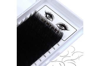 (0.18mm, d curl) - 15-20 mm Mix Classic Lash Extensions Individual GEMERRY Eyelash Extensions 0.18mm D Curl 15mm 16mm 17mm 18mm 19mm 20mm Long Lashes Supplies (0.18-D, 15-20mm Mix)