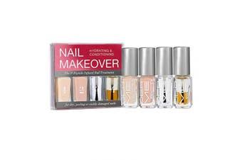 DERMELECT Nail Makeover Kit (4 piece mini set)
