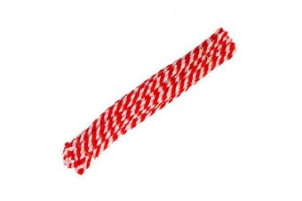 (red&white) - 50 pcs 29.5cm(11.6inch) Christmas Striped Chenille Stems Pipe Cleaners,Pipe Cleaners Tinsel Chenille Stems for Creative Craft DIY Art Supplies Retro Christmas Candy Cane Crafting Projects