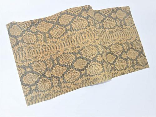 ABE Leather Various Prints Heavy Firm Cow Leathers /& Sizes Black Alligator Print, 12 x 12